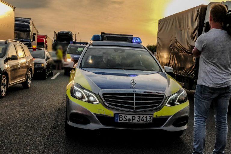 polizeikontrolle autobahn Videoproduktion