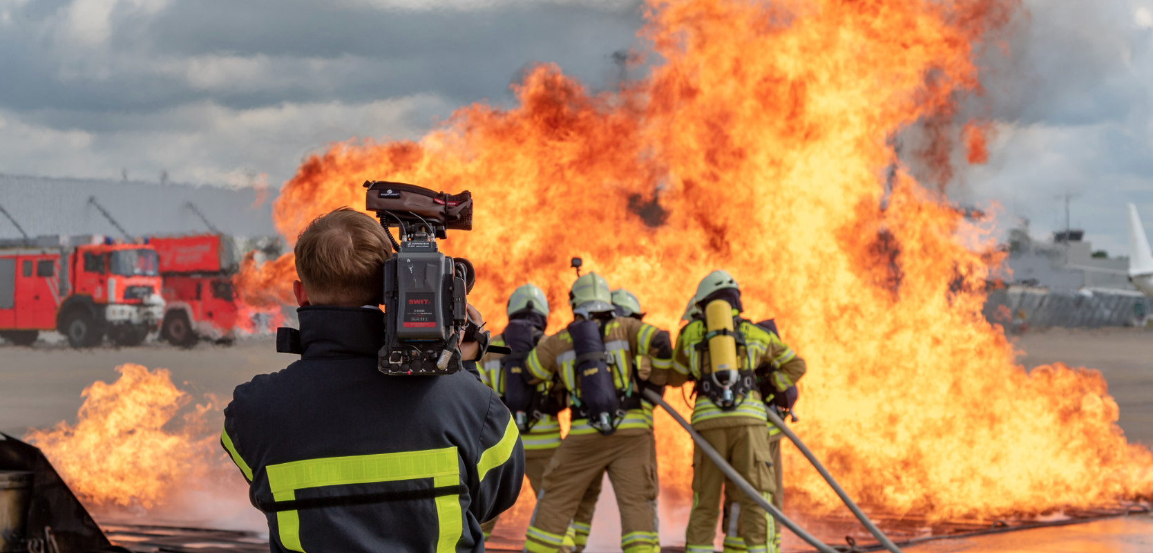 Kameramann Novo Film Hannover im Einsatz